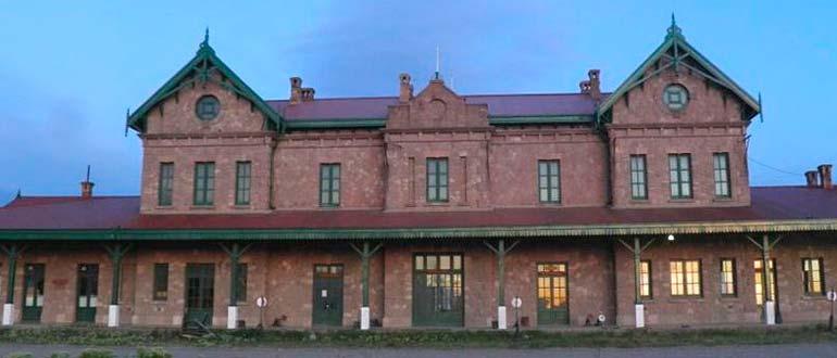 Estación del Ferrocarril en Puerto Deseado