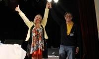 Hugo Santos Rojas y Claudia Malik de Tchara juraron como rector y vicerrectora de la UNPA