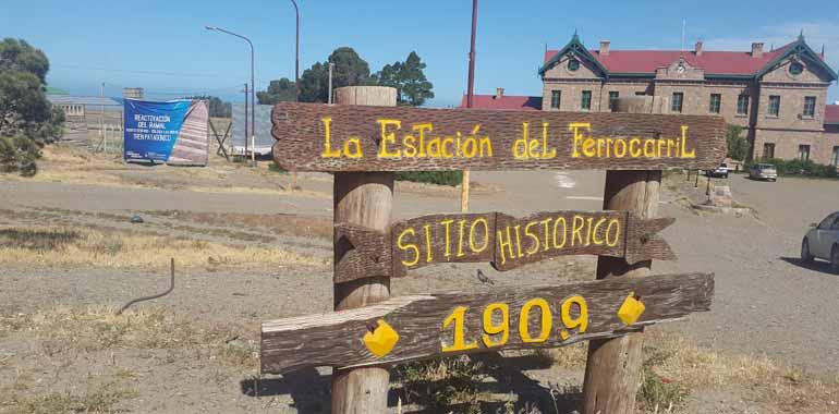 Estación del Ferrocarril Puerto Deseado. Sitio Histórico