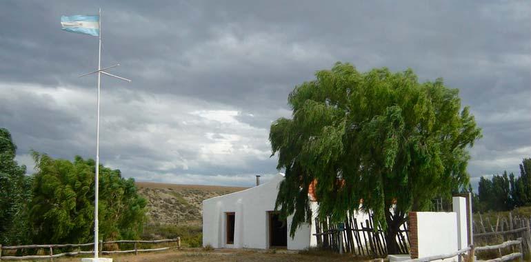 Casa construida por el Comandante Luis Piedra Buena en la Isla Pavón.