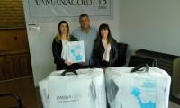 Yamana Gold realizó donación a la Subsecretaría de Turismo de Puerto Deseado