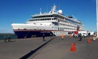 Llegó el primer crucero turístico a las costas de Santa Cruz