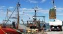 Llegaron dos buques para abastecer al puerto y plantas de San Julián