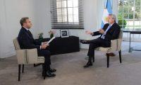 Alberto Fernández: «la Argentina se quedó sin dólares»