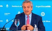 """Alberto Fernández: """"He tomado la decisión de prolongar la cuarentena hasta que termine la semana santa"""""""