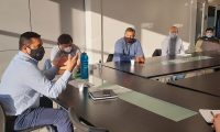 Luis Villegas se reunió con Delegados de Servicios Especiales en Caleta Olivia