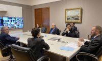 Rectores y Rectoras de Universidades Nacionales se reunieron con los Ministros de Economía y Educación