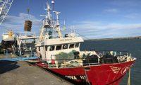Realizaron control y fiscalización de la actividad pesquera en Puerto Deseado