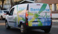 Se presentó el primer auto eléctrico de Santa Cruz