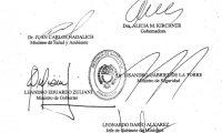Se firmó el Decreto 891/20 que establece medidas especiales para 4 localidades de Santa Cruz