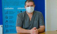 """Rolando Nervi: """"desde el servicio de salud vemos que la comunidad no acompaña"""""""