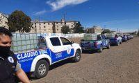 Petroleros monta un mega operativo por el agua en Caleta Olivia