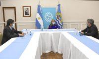 Se firmó convenio para implementar un Centro Informático en la provincia