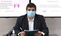 Ministro de Salud y Ambiente: Claudio García, mensaje audiovisual