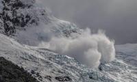 Avalancha en el Glaciar Upsala sorprende a turistas